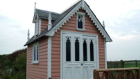 Gothic shed
