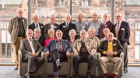 A group from the class of 1963