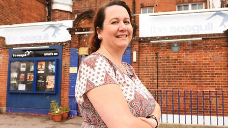 Karen Read, manager at the Seagull Theatre in Pakefield. Picture: James Bass