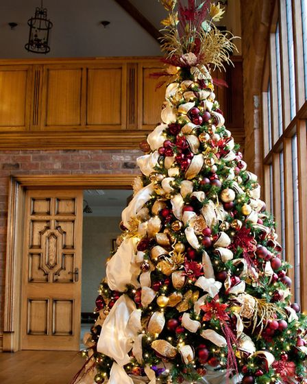 One of the companys stunning trees