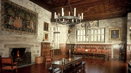 James I is said to have knight Sirloin in the banqueting hall