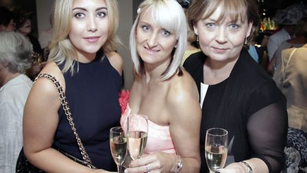 Stacey Howarth, Dawn Tibbs and Jayne Howarth