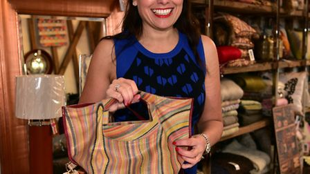 Lanassir Lawes of Swank Interiors for In Your Bag feature.