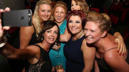 Steph Aspden, Rebecca Smith, Sue Shields, Hayley Stringfellow, Claire Taylor and Anne Parry