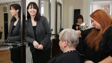 Victoria Jones at Tufties Hair and Beauty