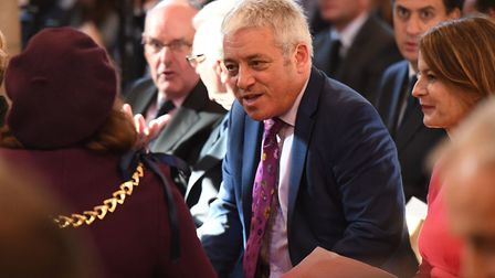 Former House of Commons speaker John Bercow. Photo: Stefan Rousseau/ PA Wire/PA Images.