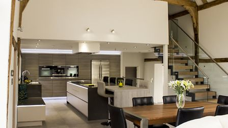 This AlnoStar Smartline kitchen was recently designed and installed by Kitchenology