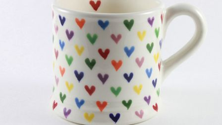 Beautiful hand printed ceramic mugs; a lovely gift for so many occasions by Hannah Berridge