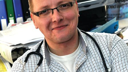 Dr Matt Piccaver who works at Grove Surgery in Thetford will be doing the Legends of Sherwood race f