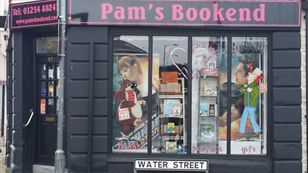 Pam's Bookend, Great Harwood