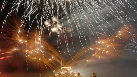 New Year's Day Fireworks at Cromer