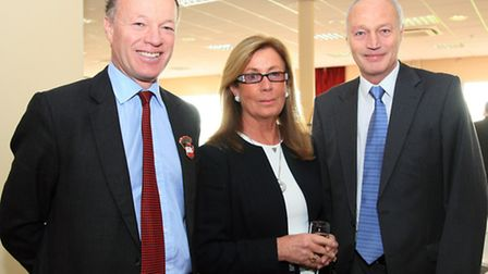 Jason Fildes (committee member), Pauline Good and Gary Middlebrook (chairman of the committee)