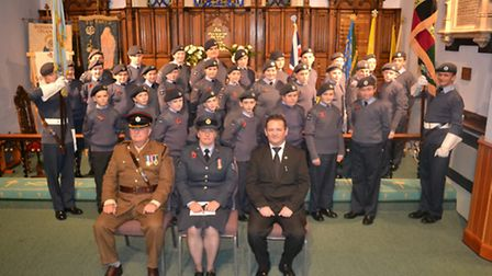 Group shot of the 1969 Rossendale Squadron Air Training Corps