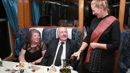 Ex Chairman of ELR, Peter Duncan and his wife, Barbara are served by Jo McIntosh