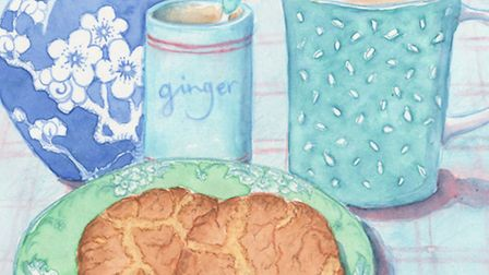 Carol Kearns starts the new year with a recipe for proper ginger biscuits