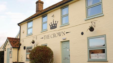 The Crown at Great Ellingham. Picture: DENISE BRADLEY