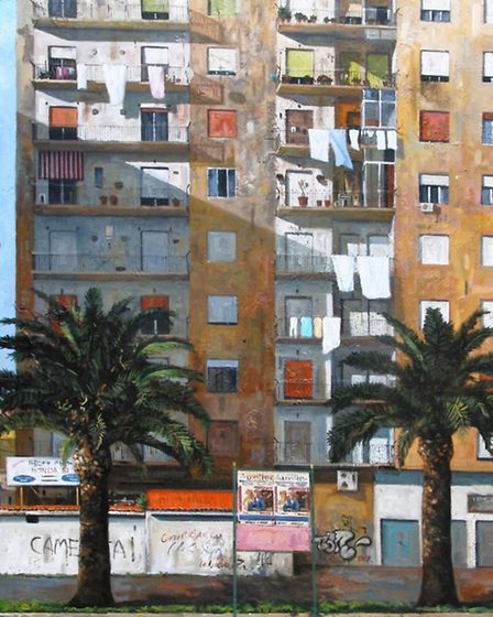 'Naples High Rise' will feature in top international exhibition at the Mall Galleries in London
