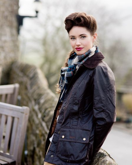 A Barbour Beadnell Wax Jacket in Rustic, £199, from Ken Vareys, completes the look. Scarf, stylists