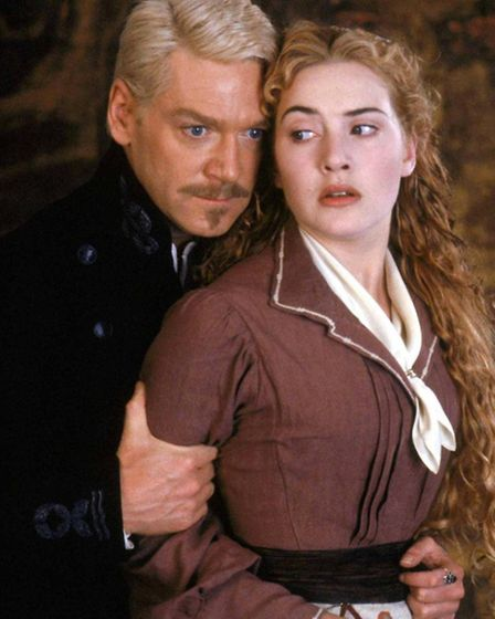 Kenneth Branagh and Kate Winslet in the film version of Hamlet 1996 Warner Bros