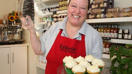 Sara Wilkins at Eclectic Kitchen and Deli