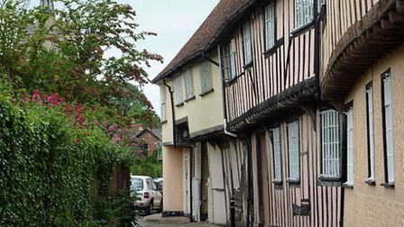 This thriving Suffolk village, near Sudbury, is known for its pretty high street with pastel-coloure