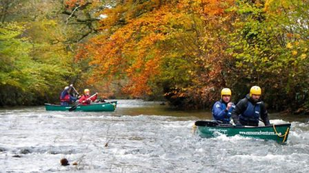 On the river with Exmoor Adventures