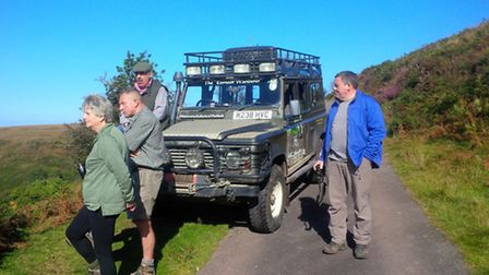 Richard Growden from Discovery Safaris takes a tour across the moor