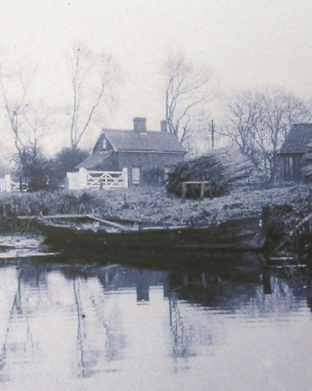 The fen as it was in the 1930s. Picture: Norfolk County Council Library and Information Service