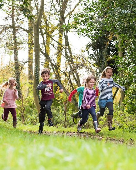 It's a great place for the kids to explore. Picture: Phil Barnes Photography