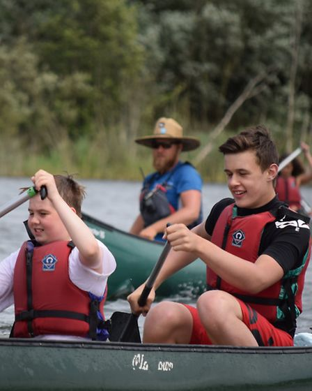 Get out on a canoe in the Norfolk Broads. Picture: Whitlingham Outdoor Education Centre