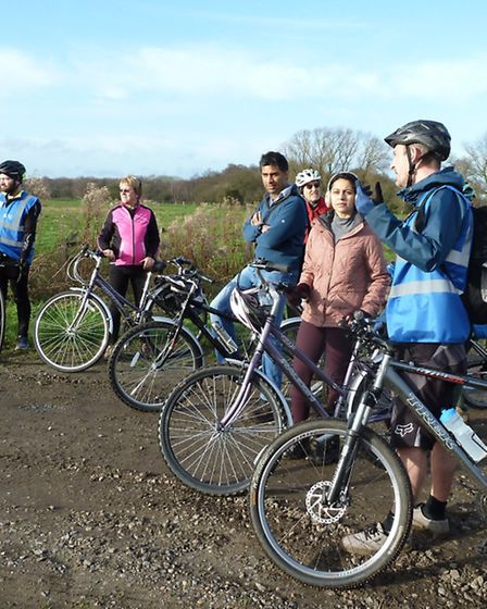 Why not join an Active in Nature bike ride?