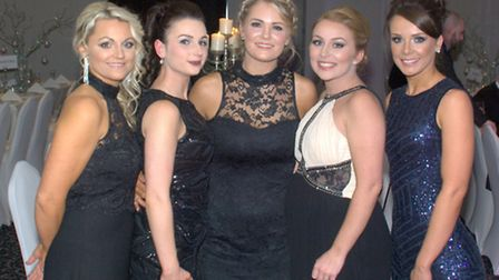 Liane Pickavance, Hannah Shaw, Justine Robinson and Charlie-Jane Reeves and Louise Cummings