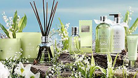 Try the delicate scent of lily-of-the-valley in the new Moulton Brown range