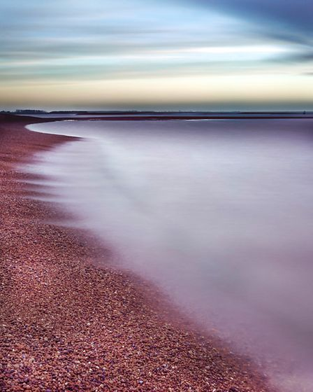 Shingle Street at dawn | Ruth Grindrod