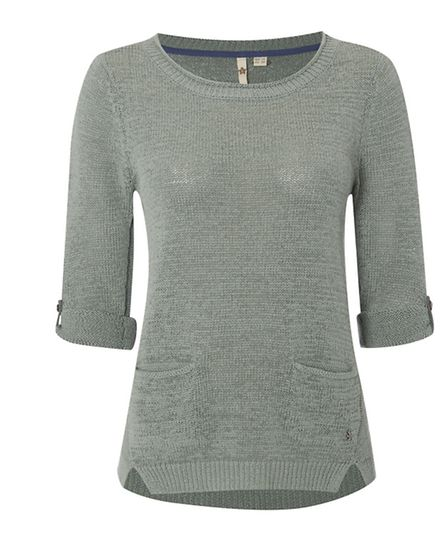 Rosie jumper £45 by White Stuff. Branches in Bournemouth 01202 553975, Dorchester 01305 264179 and a
