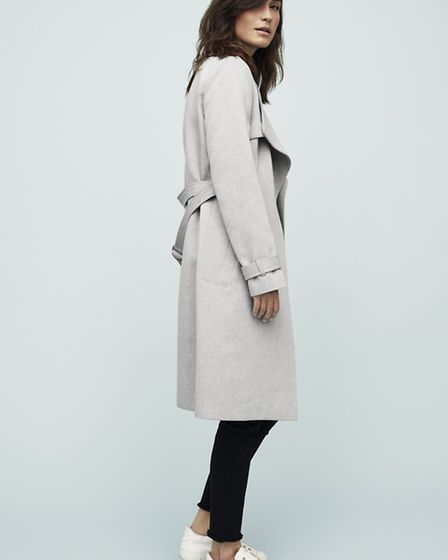 Claudie Suiting Trench coat £140 by Great Plains. From a selection at The Hambledon Gallery, Blandfo