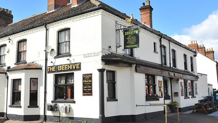 The Beehive Pub on Leopold Road, Norwich