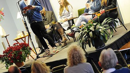 Scenes from a previous Wells Poetry Festival. Picture: Matthew Usher.