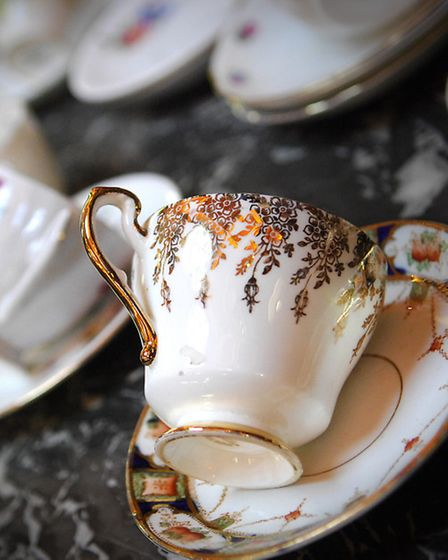 A vintage tea party during Norwich Fashion Week