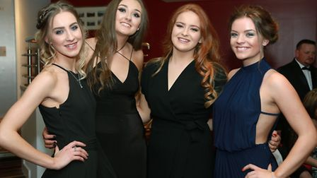 Chloe Lawless, Katie Charnock, Sophie Stokes and Lydia Smith