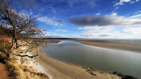 Waiting For The Tide, Silverdale by Nigel Hunter