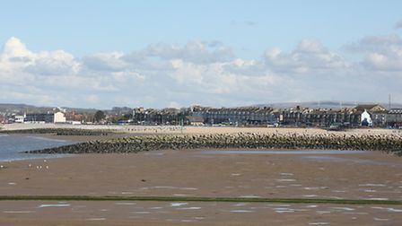 Morecambe viewed from the pier