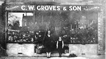 One of Groves' shops in the 1930s