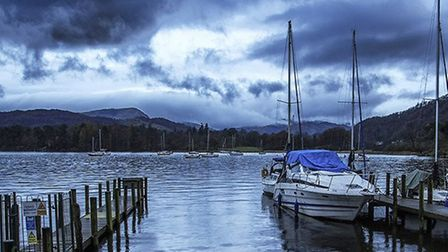 Ambleside Boat by Keith Meredith