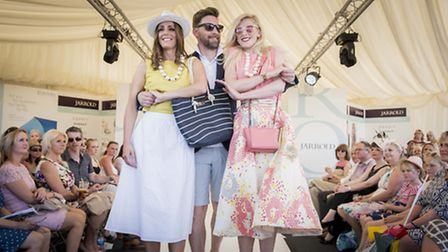 Scenes from the 2015 Jarrold's summer fashion show at the Royal Norfolk Show. Picture: Matthew Usher