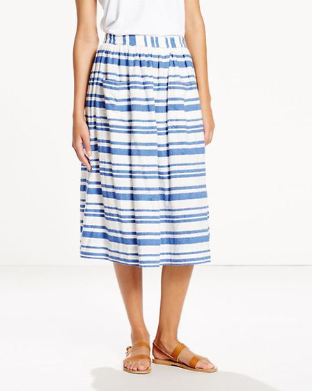 Levi's Woven Midi Skirt, £65. Available from Jarrold, Norwich.