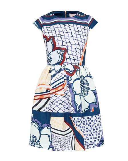 Ted Baker Wrennie Tribal Dress, £179. Available from Jarrold, Norwich.