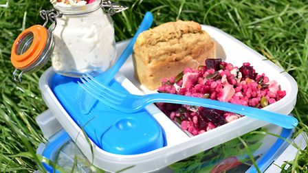Bento Box summer food shoot cooked by Charlotte Smith Jarvis.
