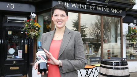 Jen Nott at The Whalley Wine Shop