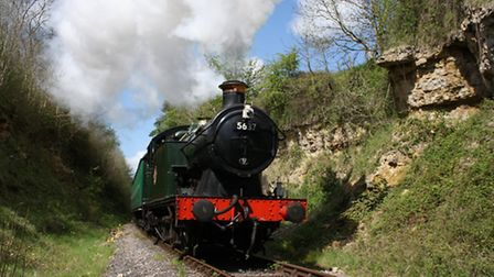 Take a trip on the East Somerset Railway